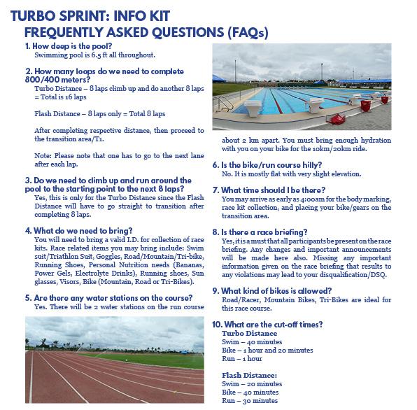 Turbo Sprint 2018 - Trisports Solutions, Inc  - Triathlon Philippines